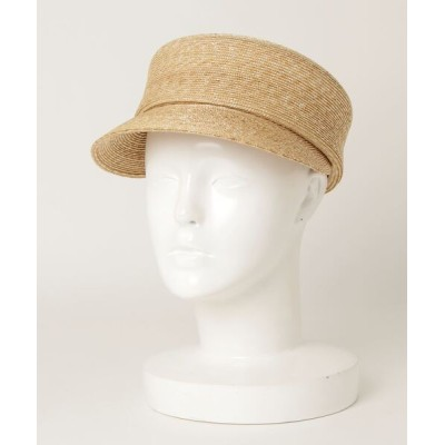 BEAMS MEN / maxim × BEAMS JAPAN / 別注 ストローキャップ WOMEN 帽子 > キャップ