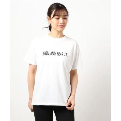 tシャツ Tシャツ コーマ天竺ロゴプリントTシャツ