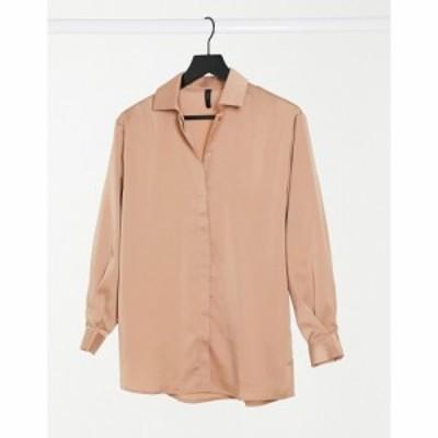 ワイ エー エス Y.A.S レディース ブラウス・シャツ トップス shirt co ord in tan