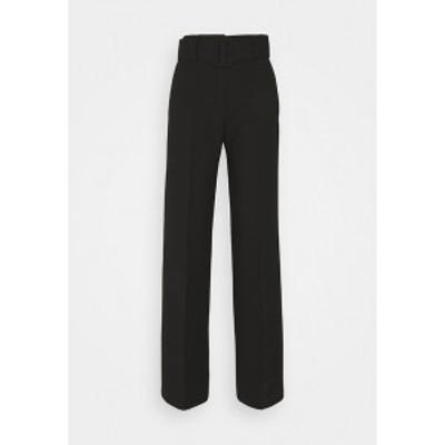 フューゴ レディース カジュアルパンツ ボトムス HULEA - Trousers - black black