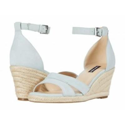 Nine West ナインウエスト レディース 女性用 シューズ 靴 ヒール Jabrina Espadrille Wedge Sandal Light Grey【送料無料】