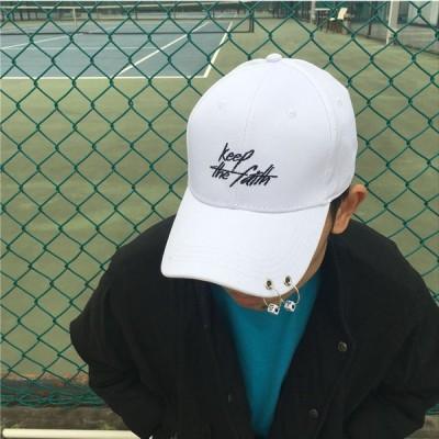野球帽 ベースボールキャップ ローキャップ キャップ 刺繍 男女兼用 サイズ調節 UVカット ダンス小物