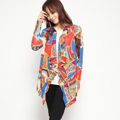 デシグアル Desigual 薄いゲージジャケット (ブルー)