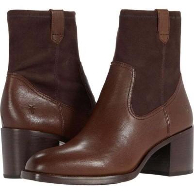 フライ Frye レディース ブーツ シューズ・靴 Monroe Stretch Bootie Truffle Vintage Veg Tan/Stretch Leather