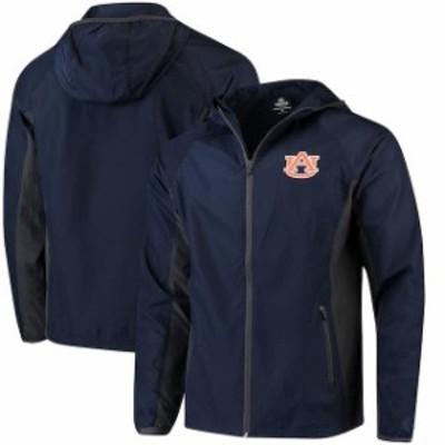 Colosseum コロセウム スポーツ用品  Colosseum Auburn Tigers Navy Archer Full-Zip Jacket