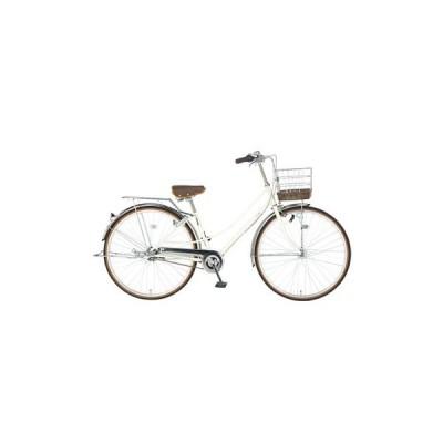自転車 イーストボーイ 27インチ ママチャリ デラックス オフホワイト 2020年 内装3段ギア EASTBOY DX273HD イーストボーイ