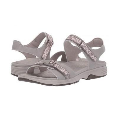 Dansko ダンスコ レディース 女性用 シューズ 靴 サンダル Angie - Stone Microbuck