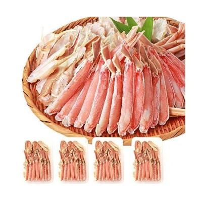 シーフード本舗 カニ ズワイガニ 刺身用 ハーフポーション 生ずわい蟹 2kg