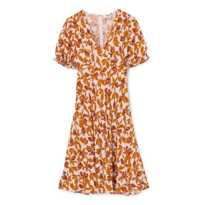 【Diane von Furstenberg】ガーデンプリントドレス