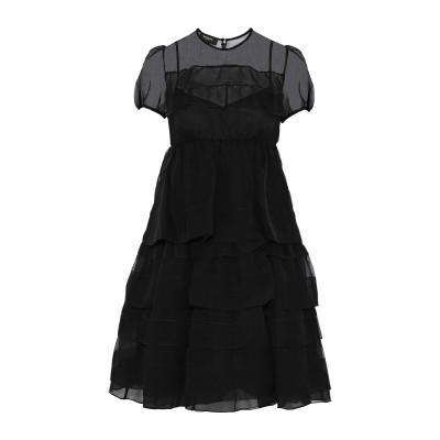 ロシャス ROCHAS ミニワンピース&ドレス ブラック 40 シルク 100% ミニワンピース&ドレス