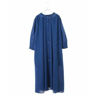 HIROKO BIS GRANDE / ヒロコビス グランデ 【洗える】フレアロングシャツドレス