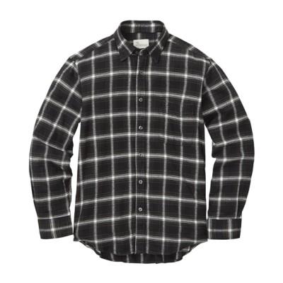 CANTERBURY WOOD(カンタベリーウッド)綿100%ツイル起毛ネルチェック柄長袖シャツ カジュアルシャツ, Shirts, テレワーク, 在宅, リモート