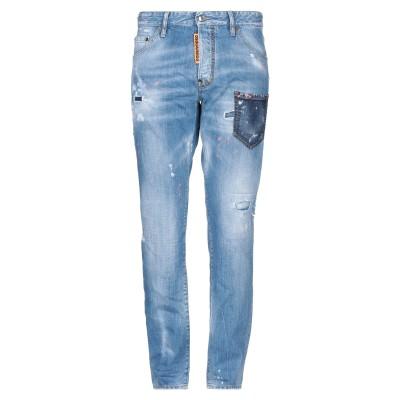 ディースクエアード DSQUARED2 ジーンズ ブルー 48 コットン 100% / ポリウレタン ジーンズ