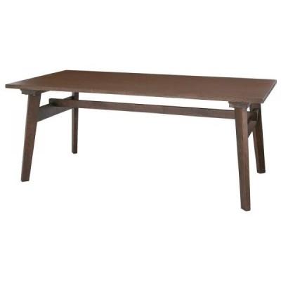 「Milka」ミルカ 天然木北欧スタイル ソファダイニング テーブルW160