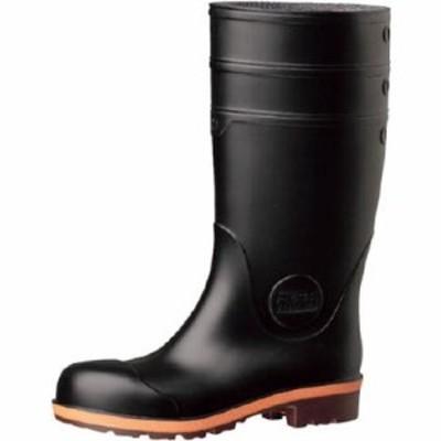 ミドリ安全 小指保護先芯入り安全長靴25.021400062 480 x 344 x 121 mm PW1000-BK-25.0