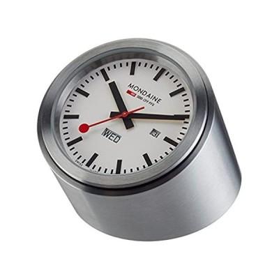 特別価格Mondaine A667.TUBE.80SBB Desk Clock White Dial Tube Case好評販売中