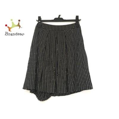 アマカ AMACA スカート サイズ36 S レディース 黒×白       スペシャル特価 20200923