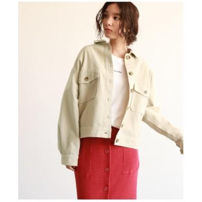 サマーコールビッグシルエットジャケット