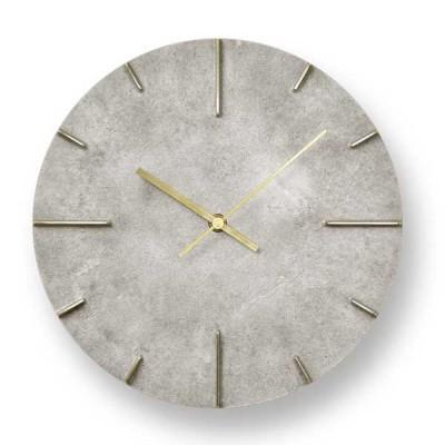 レムノス Lemnos クロック Clock 掛け時計 Quaint クエィント AZ15-06 SL 斑紋鈍銀色 *受注後に納期をお知らせ致します。