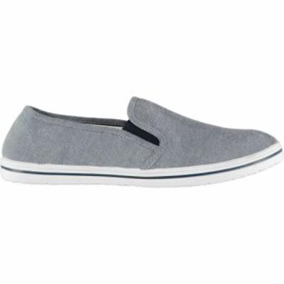 スラセンジャー Slazenger メンズ スリッポン・フラット シューズ・靴 slip on canvas shoes Chambray