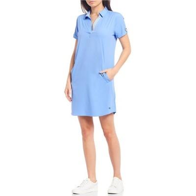サウザーンタイド レディース ワンピース トップス Kamryn Brrr Knit Popover Shirtdress Sail Blue