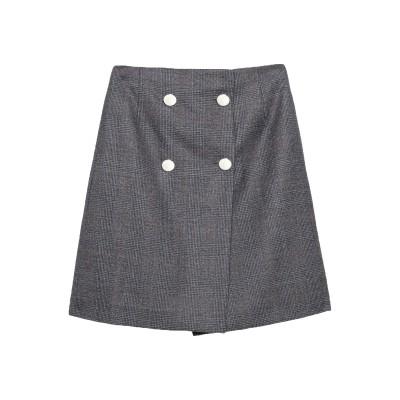CALVIN KLEIN 205W39NYC ひざ丈スカート グレー 40 ウール 100% ひざ丈スカート