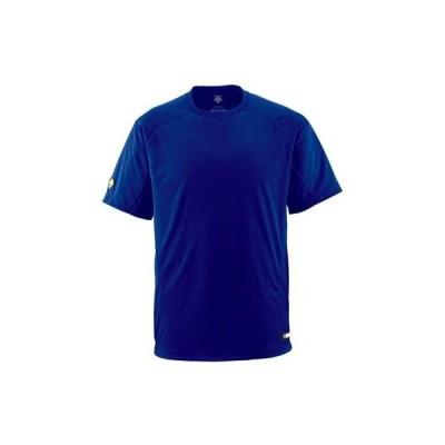 DESCENTE(デサント) ベースボールシャツ(Tネック) DB200 ロイヤルブルー(ROY) L