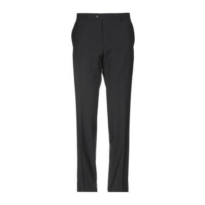 JULIAN KEEN パンツ ブラック 54 スーパー130 ウール 100% パンツ