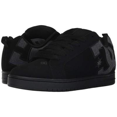 ディーシーシュー Court Graffik SE メンズ スニーカー 靴 シューズ Black Destroy Wash