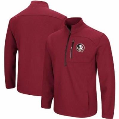 Colosseum コロセウム スポーツ用品  Colosseum Florida State Seminoles Garnet Townie Half-Zip Pullover Jacket