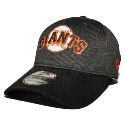 ニューエラ ベースボールキャップ 帽子 NEW ERA 39thirty メンズ レディース MLB サンフランシスコ ジャイアンツ bk