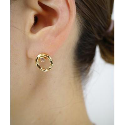 ISOLATION / 【MASANA】running water crest pierced earrings WOMEN アクセサリー > ピアス(片耳用)