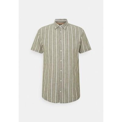 ブレンド シャツ メンズ トップス Shirt - four leaf clover