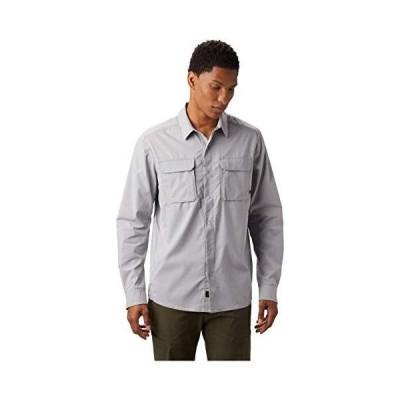 Mountain Hardwear メンズ キャニオンプロ 長袖シャツ X-Large グレイ