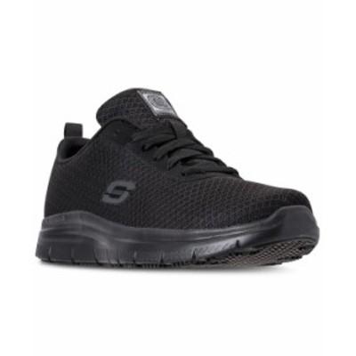 スケッチャーズ メンズ スニーカー シューズ Men's Work Relaxed Fit: Flex Advantage - Bendon SR Slip Resistant Athletic Sneakers fr