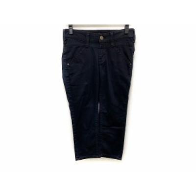 リーバイスレディスタイル LEVI'S.LADY STYLE パンツ サイズ29 XL レディース - 黒 クロップド(半端丈)【還元祭対象】【中古】20210201