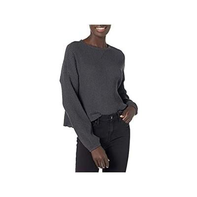 特別価格Billabong Women's Come Through Shirt, Off Black, S好評販売中