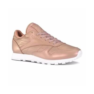 スニーカー リーボック [BD4308] Womens Reebok Classics Leather Pearlized Sneaker Rose Gold