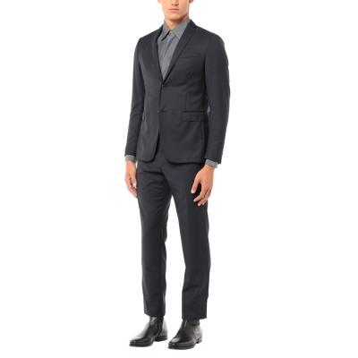 LAB. PAL ZILERI スーツ ダークブルー 50 ウール 100% スーツ