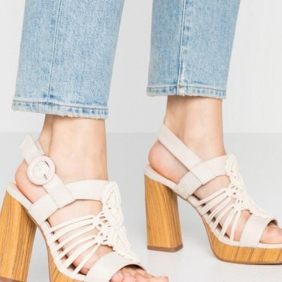 アンナフィールド レディース サンダル High heeled sandals - white