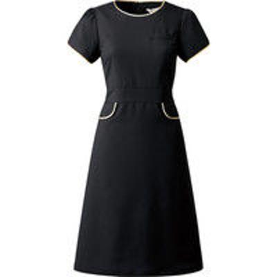 チトセチトセ ワンピース 女性用 ブラック 9号 CL-0251(取寄品)