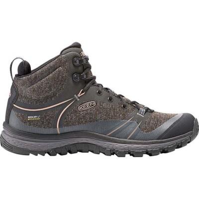 キーン KEEN レディース ハイキング・登山 ブーツ シューズ・靴 Terradora Mid Waterproof Hiking Boots, Raven RAVEN