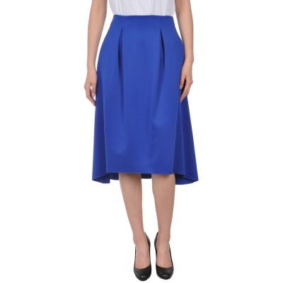 アルマーニ ジーンズ ARMANI JEANS 7分丈スカート ブルー 44 ポリエステル 82% / レーヨン 14% / ポリウレタン 4% 7