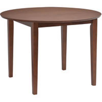 タマリビングタマリビング ダイニングテーブル ブルック ブラウン 幅1000×奥行き1000×高さ700mm 1台(直送品)