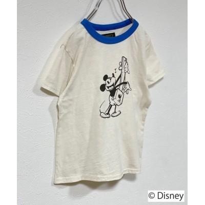tシャツ Tシャツ 【Disney】ミッキーマウス/半袖Tシャツ(80〜150cm)