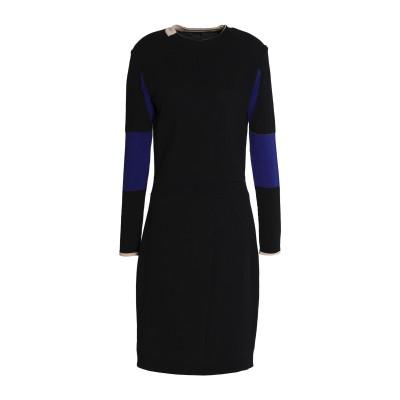 ベルスタッフ BELSTAFF ミニワンピース&ドレス ブラック XL ナイロン 54% / コットン 46% ミニワンピース&ドレス
