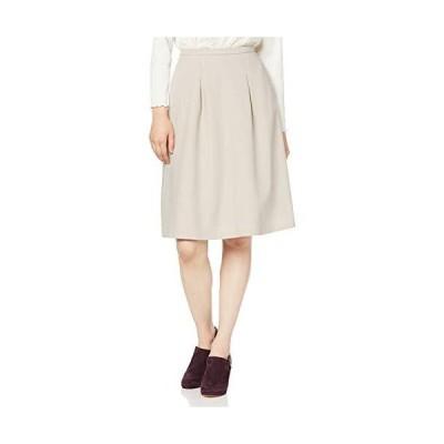 ナチュラルビューティーベーシック セットアップスカート TRジョーゼットセットアップ レディース ベージュ 日本 S (日本サイズS相当)