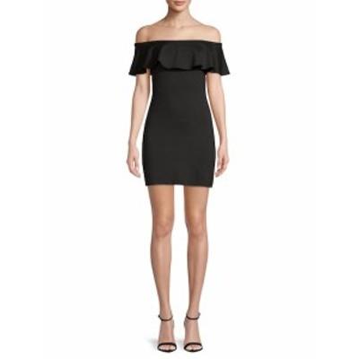 スサナモナコ レディース ワンピース Off-The-Shoulder Bodycon Dress