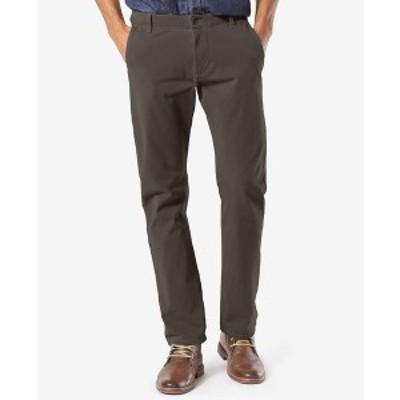 ドッカーズ メンズ カジュアルパンツ ボトムス Men's Alpha Smart 360 FLEX Slim Tapered Fit Khaki Stretch Pants Steelhead