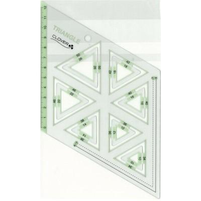 クロバー ピーステンプレート 正三角形 57-998